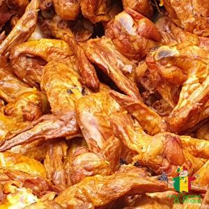 Ailes de poulet - viande fumée