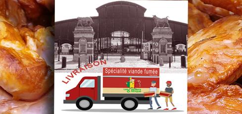 Achat viande fumée livraison Bruxelles
