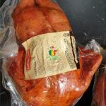 Poulet fumée entier - Les Sentiers d Afrique Chez Chantal - Boucherie spécialisée viande fumée Bruxelles