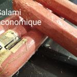 Salami économique - Les Sentiers d Afrique Chez Chantal - Boucherie spécialisée viande fumée Bruxelles