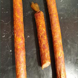 Salami piquant - Les Sentiers d Afrique Chez Chantal - Boucherie spécialisée viande fumée Bruxelles