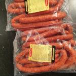 Saucisses sèches non-piquantes - Les Sentiers d Afrique Chez Chantal - Boucherie spécialisée viande fumée Bruxelles